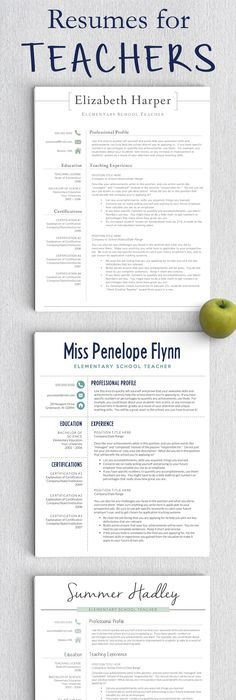 Preschool Teacher Resume Sample  For My Cover Letter