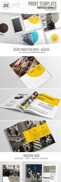Professional Company Profile A4   Company profile, Print templates ...