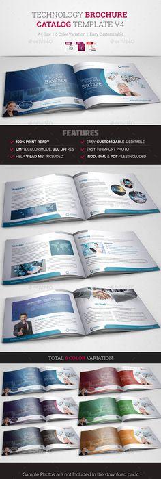 Automotive Car Brochure Catalog Indesign Template  Indesign