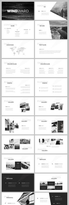 Focus Powerpoint Template Gift Layouts Keynote And Presentation