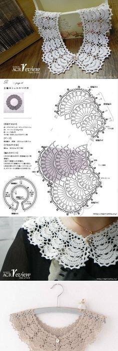 Pin By Ti Ni On Linh Tinh Pinterest Crochet Crochet Collar And
