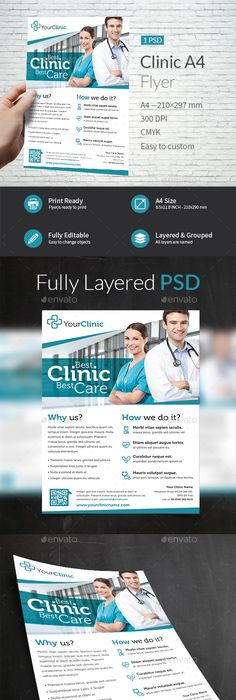 Medical Flyer Psd Template  Medical Psd Templates And Brochures