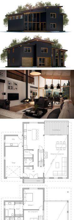 Small House Plan Ce sera probablement encore plus petit mais il y a