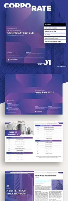 Modern Product Catalog Product catalog, Brochures and Brochure