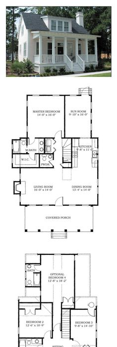 Tinyhouse Smallhome Tinyhome Tinyhouseplans Cottage Floor Plans Via Cool House Plans