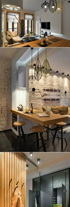 Unbelievable Interior Fitting in a 20 Square Meters Apartment