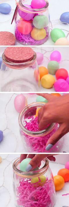 17 diy easter gift ideas for friends bath bomb easter and craft 17 diy easter gift ideas for friends negle Images