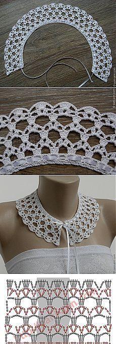 Collar Pattern Deniz T Ileri Pinterest Collar