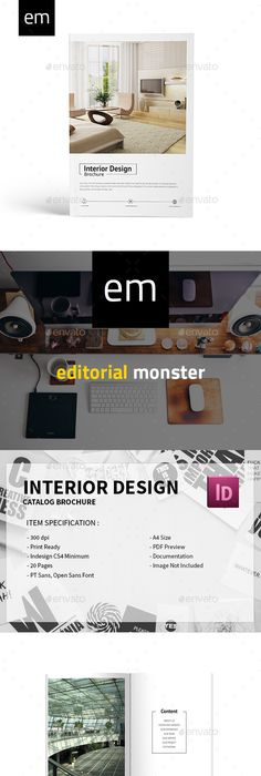 Product Catalog  Indesign Templates Product Catalog And Template