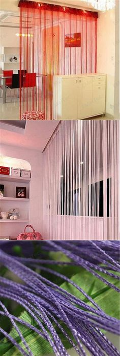 Room dividers - 10 inspiring ideas | Curtain room dividers, Divider ...