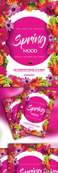 Spring Is Here Festival  Spring Flyer Template And Event Flyers
