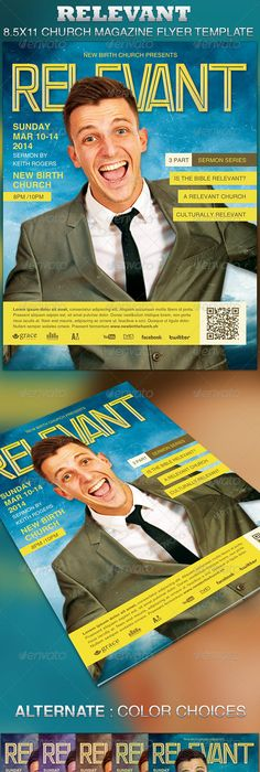 Rust flyer rust photoshop and template relevant church magazine flyer template maxwellsz
