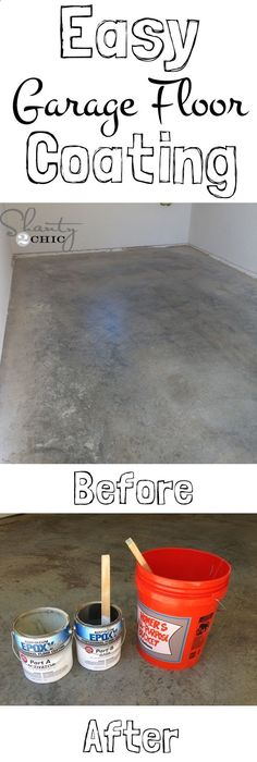 Diy garage floor makeover easy enough to do by yourselfd the easy and inexpensive garage floor makeover solutioingenieria Gallery