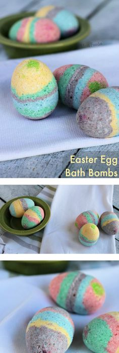 Easter egg bath bombs tutorial easter gift baskets bath bomb and homemade easter egg bath bombs note the passive voice directions are super annoying negle Images