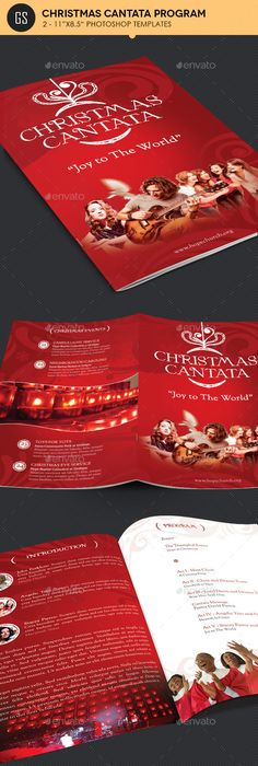 Christmas Brochure Examples Brochure Examples Corporate Business