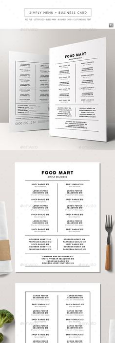 BiFold Drink Menu Template   Drink Menu Menu Templates And Menu