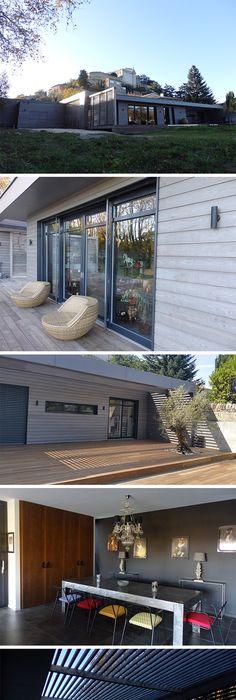 SCB - CANEXEL bardage clins fibres de bois - Isolation maison - agrandir sa maison sans permis de construire