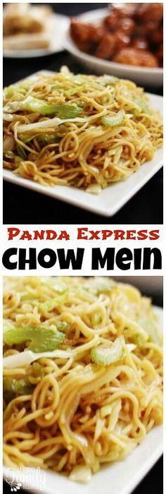 Panda express chow mein copycat recipe panda express chow mein best panda express chow mein copycat recipe ever that tastes exactly like panda express so good so easy healthier takes 15 mins rasamalaysia ccuart Images