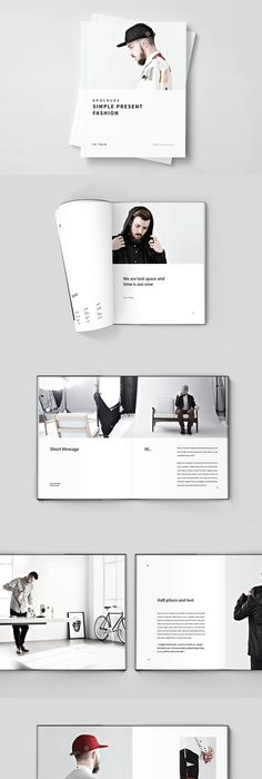 SquareFashionBrochureTemplate   Fashion Brochure Template