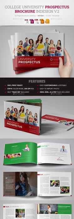 college brochure design ideas college university brochure template