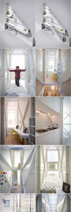 Keret house narrow