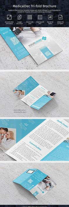 Kebon Ijo Trifold Template By Fisihsani Clean Brochure Template