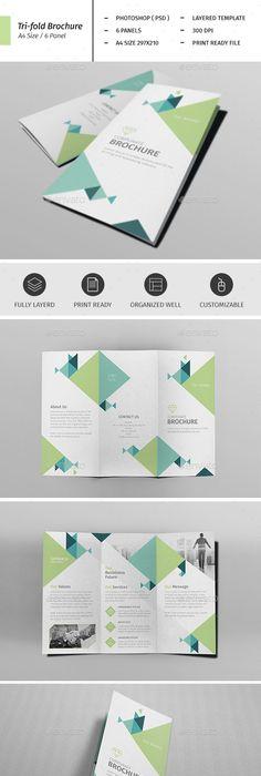 A Corporate Business Flyer Template Vol Business Flyer - A4 brochure template