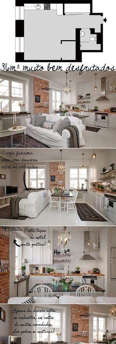 Kleine wohnung modern und funktionell einrichten kleine for Kleines apartment einrichten