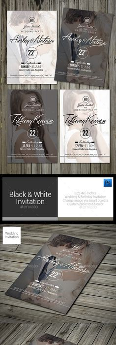 Luxury Christmas Invitation Card u2014 Photoshop PSD #modern #gold - birthday invitation card template photoshop