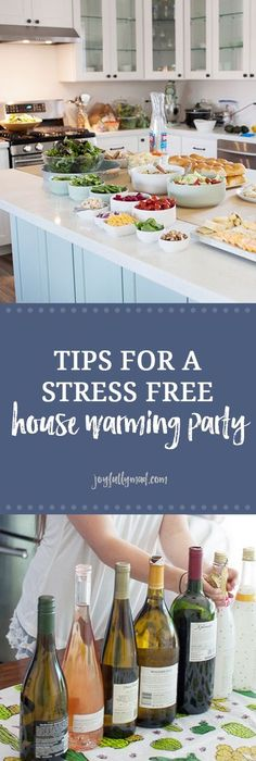 How To Host A Stress Free Housewarming Party