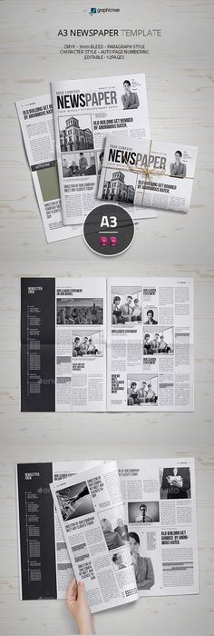Tabloid Paper Design  Best Photos Of Tabloid Newspaper Format