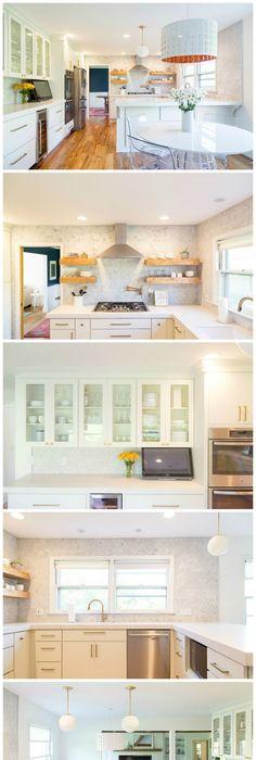 white kitchen update starmark kitchen cabinets lusso quartz