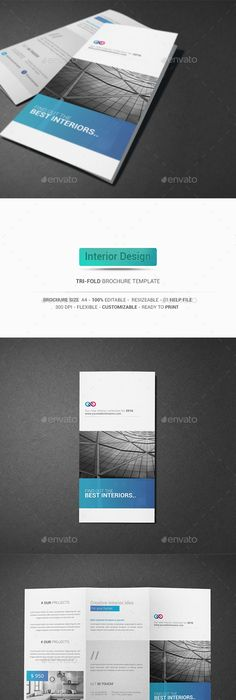 Software Developers Tri Fold Brochure Template  TriFold