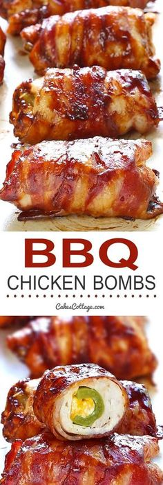 Sweet spicy bacon wrapped chicken tenders one of the best things bacon bbq chicken bombs bbq ideasbbq food ideas partygood forumfinder Gallery