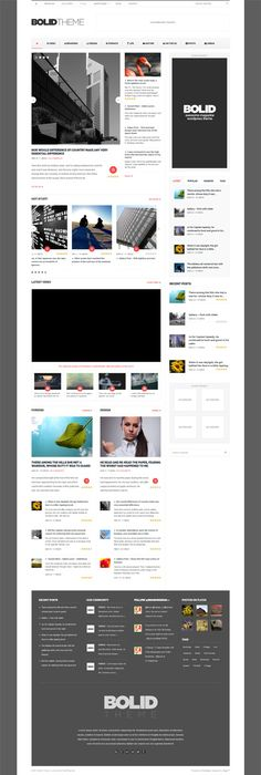 TB Nex offers a neat layout to present news and articles. The theme ...