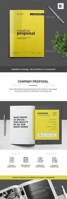 Proposal Template Microsoft Word Proposal  Proposal Templates Proposals And Template