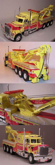 Revell peterbilt 359 conventional tractor truck model kit 1 25 scale peterbilt wrecker publicscrutiny Images