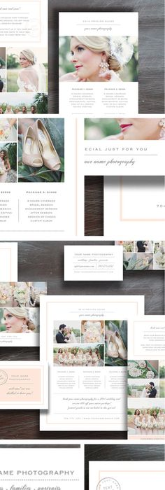 Wedding Photography Magazine Template - New Client Studio Welcome