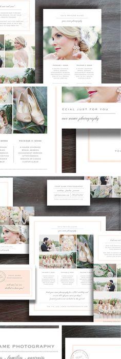 Wedding Photography Magazine Template   Page Digital Magazine