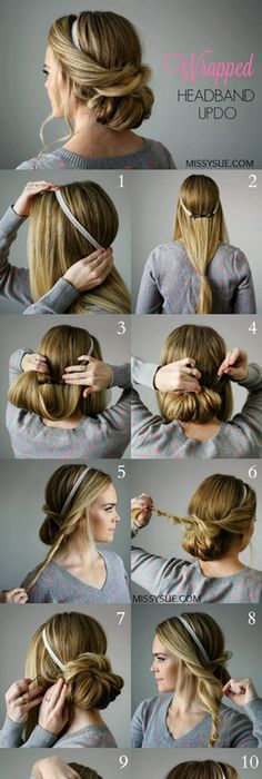Do it yourself updo hair style random stuff pinterest updo 14 simply gorgeous hair tutorials for weddings prom fancy affairs solutioingenieria