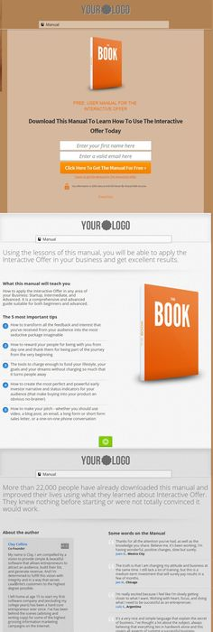 White Paper Landing Page  Free Template  Best Landing Pages