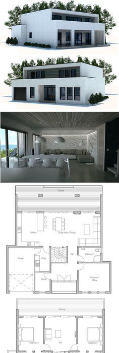 Modern Architecture Modern House Design to narrow lot House - plans de maison moderne