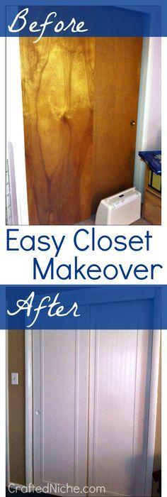 Redo Of Old Sliding Closet Doors Diy Pinterest Sliding Closet