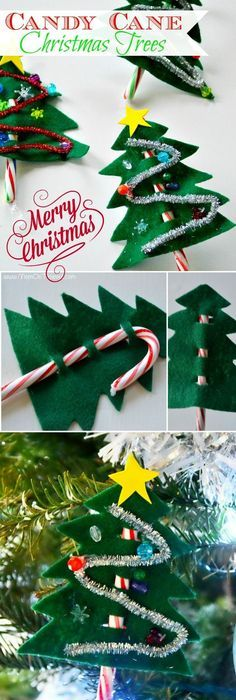 A Great Craft Idea For Little Ones The Perfect Christmas Party Favor Ornament