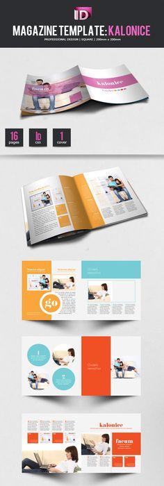 Indesign Modern Newspaper Magazine Template A3 | Newspaper, Template ...