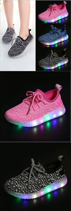 NEW Children Shoes With Light Boys Girls Casual LED Shoes For Kids 2016  Good Quality LED