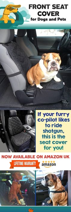 If Your Furry Friend Likes To Call Shotgun 4Knines Front Seat Covers Will Protect