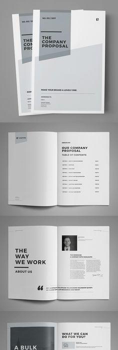 Brand Manual and Identity Template \u2013 Corporate Design Brochure