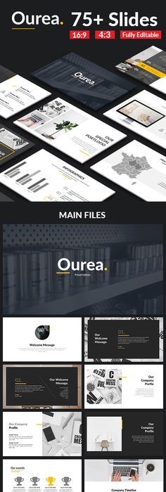 Minimal X Powerpoint Template Creative powerpoint, Template and
