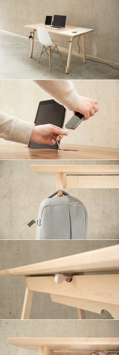 Good Artifox Has Created The Most Practical Desk Ever   Crnchy Amazing Pictures